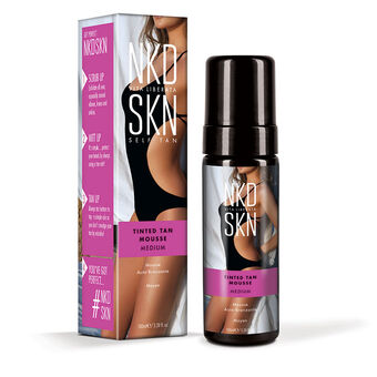 NKD SKN Tinted Tan Mousse Medium 100ml, , large