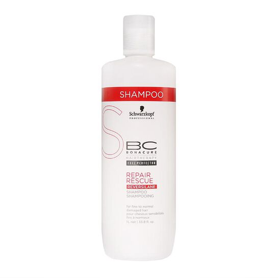 Schwarzkopf BC Repair Rescue Fine to Normal Hair Shampoo 1L, , large