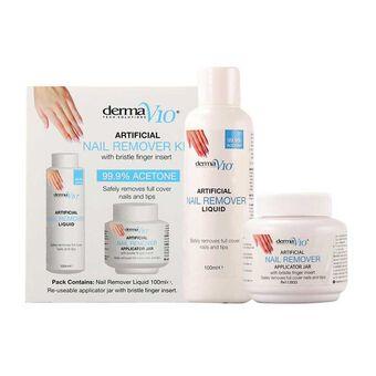 DermaV10 Artificial Nail Remover Kit, , large