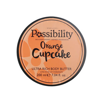 Possibility Orange Cupcake Body Butter 200ml, , large
