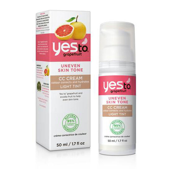 Yes To Grapefruit CC Cream Light Tint 50ml, , large