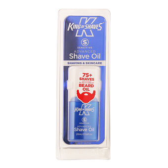 King of Shaves Advanced sensative Shave Oil 20ml, , large