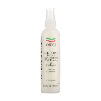 La Brasiliana Dieci All In One Instant Hair Treatment 250ml, , large