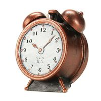 Levin Brothers Small Clock Candle Bronze, , large