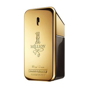 Paco Rabanne 1 Million Eau de Toilette Spray 50ml, 50ml, large