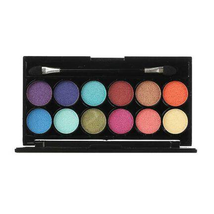 Technic Electric Beauty Eyeshadow Pallet Bright BQ6794, , large
