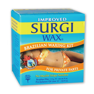 Surgi Wax Brazilian Waxing Kit 113g & 3.6ml, , large