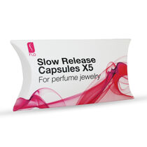 Flo Perfume Jewellery Slow Release Capsules x5 Small Heart, , large