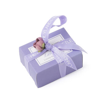 Heyland & Whittle Lavender Mini Soap Favour Boxed 45g, , large