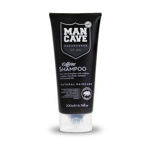 ManCave Caffine Shampoo 200ml, , large