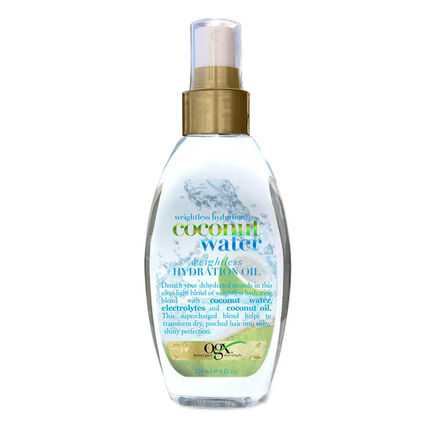 Organix Coconut Oil Weightless Hydrating Oil 118ml, , large
