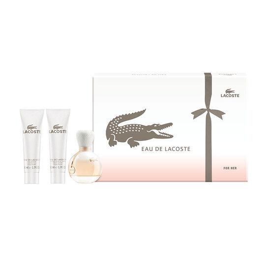 Lacoste Eau de Lacoste Femme Gift Set 50ml, , large