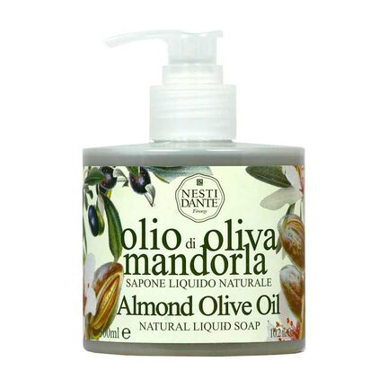 Nesti Dante Almond Olive Oil Hand Liquid Soap 300ml, , large