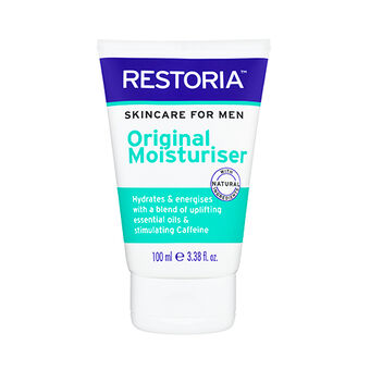 Restoria Skincare For Men Original Moisturiser 100ml, , large