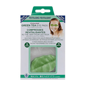 Skin Benefits Oriental Green Tea Eye Pads, , large