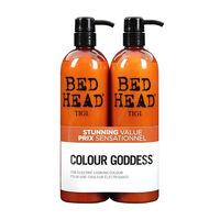 Tigi Bed Head Colour Goddess Duo 2 x 750ml, , large