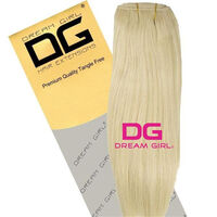DREAM GIRL Euro Weave Hair Extensions 20 Inch 613, , large