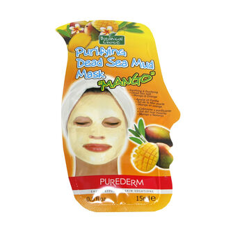 Purederm Purifying Dead Sea Mud Mango Mask 15ml, , large