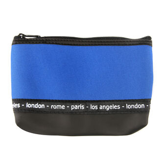 Travel Cosmetics Blue Bag, , large