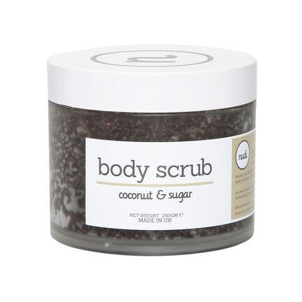 Nudi Coconut and and Sugar Body Scrub 250g, , large