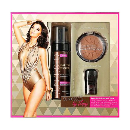 Sunkissed By Lucy Beautifully Bronzed Dark Gift Set, , large