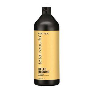 Matrix Total Results Hello Blondie Shampoo 1Litre, , large