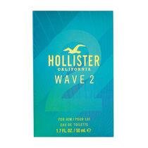 Hollister Wave 2 Him Eau de Toilette Spray 50ml, , large