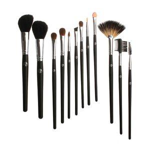 W7 12 Piece Professional Cosmetic Brush Set, , large