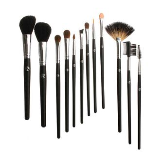 W7 12 Piece Professional Cosmetic Brush Set, , large