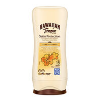 Hawaiian Tropic Satin Protection Lotion SPF 15 200ml, , large