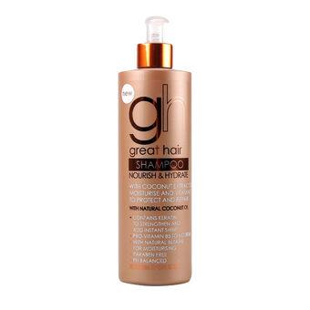 Baylis & Harding Natural Coconut Oil Shampoo 500ml, , large