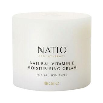 Natio Natural Vitamin E Moisturising Cream 100g, , large