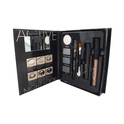 Active Cosmetics Glamour Night Look Make Up Set, , large