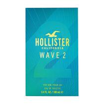 Hollister Wave 2 Him Eau de Toilette Spray 100ml, , large