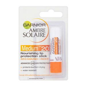 Garnier Ambre Solaire Lip Sun Protection Stick SPF20 4.7ml, , large