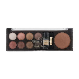 Sunkissed Eye Palette & Bronzer Everyday Glamour, , large
