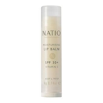 Natio Cosmetics Moisturising Lip Balm SPF30+ 4g, , large