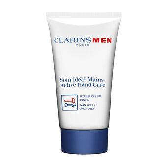 Clarins Men Active Hand Care Non-Oily Hand Cream 75ml, , large