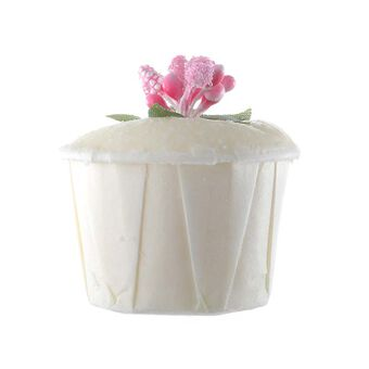 Rose & Co Patisserie de Bain Bath Fancies Strawberry Cupcake, , large