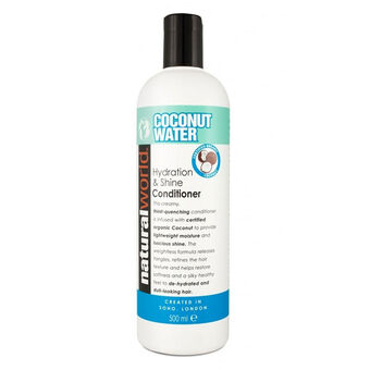 Natural World Coconut Water Conditioner 500ml, , large