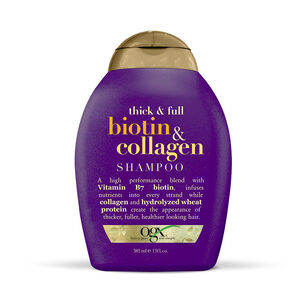 Organix Thick & Full Biotin & Collagen Shampoo 385ml, , large