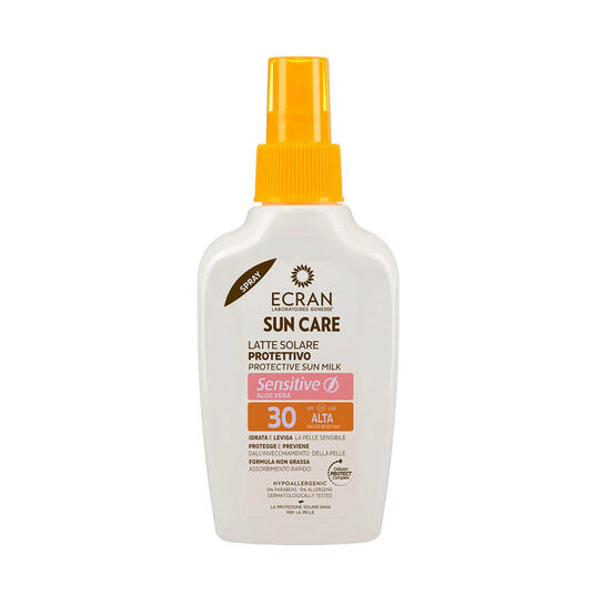 Ecran Protective Sun Milk Sensitive SPF30 200ml, , large