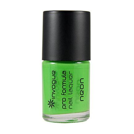 Invogue Pro Formula Nail Laquer Neon 10ml, , large