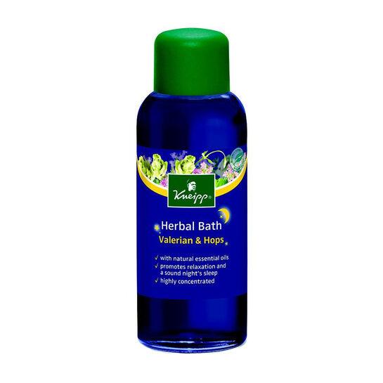 Kneipp Herbal Bath Deep Sleep Valerian & Hops 100ml, , large