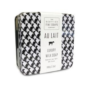 Scottish Fine Soaps Au Lait Luxury Milk Soap 100g, , large