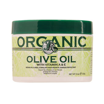 JR Organics Olive Oil With Vitamin A And E 227g, , large