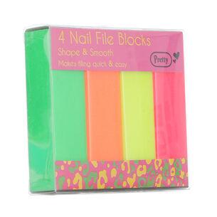 Pretty 4 Nail File Blocks, , large