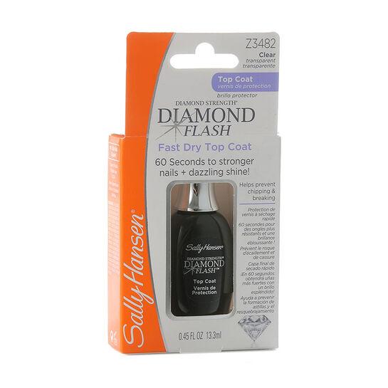 Sally Hansen Diamond Flash Fast Dry Top Coat 13.3ml, , large