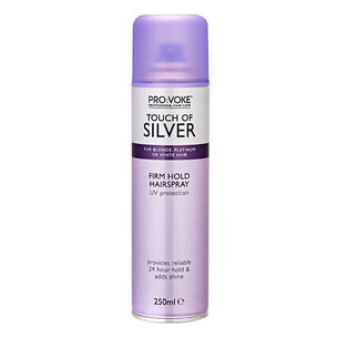 PRO:VOKE Touch of Silver Ultra Firm Hairspray 250ml, , large
