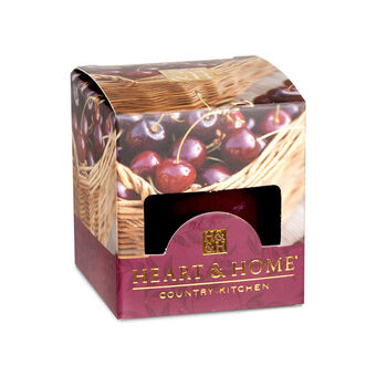 Heart & Home Votive Candle Sweet Black Cherries 57g, , large